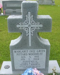 Margaret Inez Pittard Inez <i>Green</i> Woodruff
