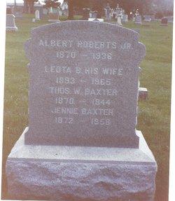 Jane Jennie <i>Roberts</i> Baxter
