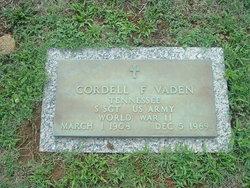 Cordell Francis Vaden