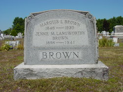 Mary Jane <i>Langworthy</i> Brown