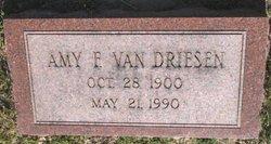 Amy F <i>Yerks</i> Van Driesen