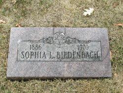 Sophia L. <i>Brodbeck</i> Biedenbach