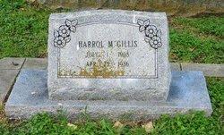 Harol M Gillis