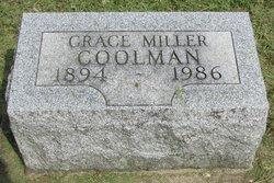 Grace <i>Miller</i> Coolman