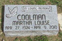 Martha Louise Coolman