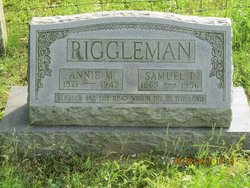 Annie M <i>Ayers</i> Riggleman