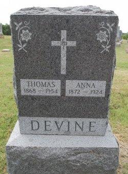 Anna <i>Dolan</i> Devine
