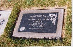 Marjorie Jeannie <i>Harris</i> Behrns