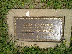 Julia E Carlson