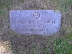 Archie C Beckwith