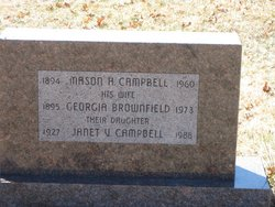 Georgia <i>Brownfield</i> Campbell