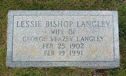 Lessie <i>Bishop</i> Langley