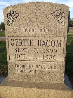 Gertie Bacom