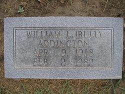 William Leroy Bull Addington