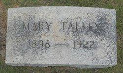 Mary <i>Abernathy</i> Talley