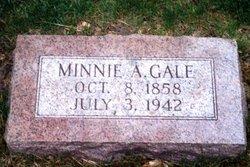 Minnie A. <i>Weston</i> Gale