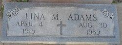 Lina M. Adams