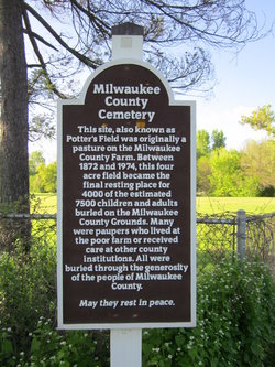 Milwaukee County Almshouse and Poor Farm Cemetery