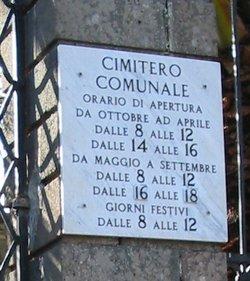 Cimitero del Comune di Vizzini