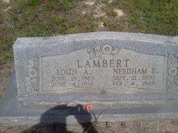 Edith Ann <i>Massengill</i> Lambert
