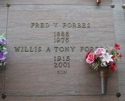 Willis Anthony Tony Forbes