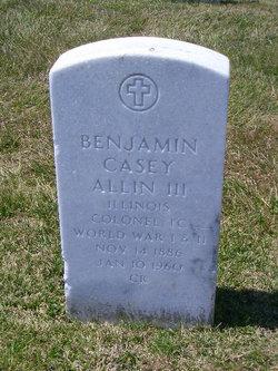 Benjamin Casey Allin, III