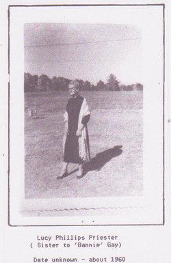 Lucy Edna <i>Phillips</i> Priester