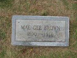 Mary Elizabeth Mae <i>Gee</i> Brown