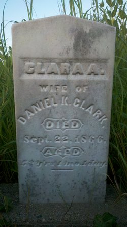 Clara A. <i>Boyer</i> Clark