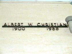 Albert W Christian
