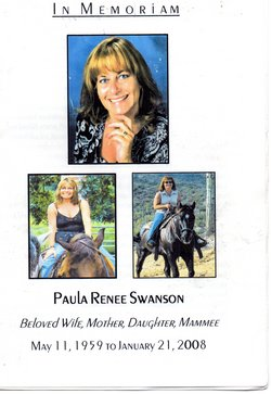 Paula Renee <i>Heath</i> Swanson