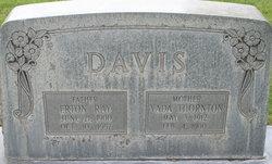 Vada <i>Thornton</i> Davis