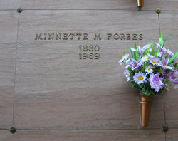Minnette M. Forbes