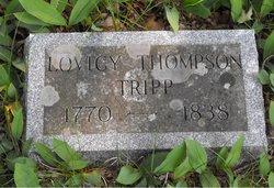 Lovicy <i>Thompson</i> Tripp