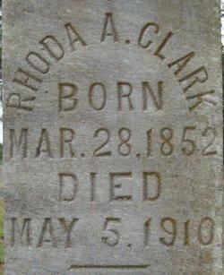 Rhoda A. <i>Hairston</i> Clark
