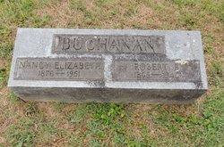 Nancy Elizabeth <i>Hudson</i> Buchanan