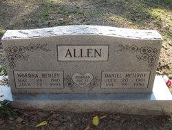 Wordna <i>Henley</i> Allen