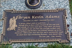 Bryan Kevin Adams