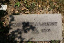 Matthew J Lamont