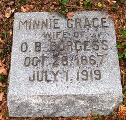 Minnie Grace Burgess