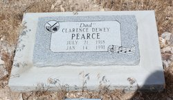 Clarence Dewey Duke Pearce