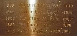 Carleton Noah Gary