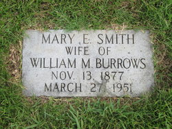 Mary Elvira Molly <i>Smith</i> Burrows