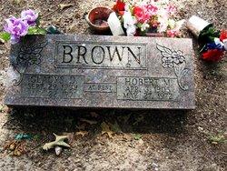 Hobert M Brown