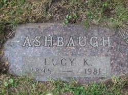 Lucy Katherine <i>Morrell</i> Ashbaugh