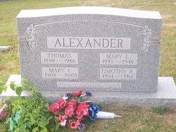 Mary I. Alexander