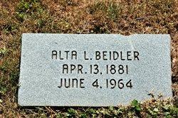 Alta L. Beidler