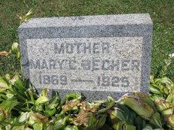 Mary C. <i>Keefer</i> Becher