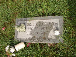 Marjorie K Baltimore
