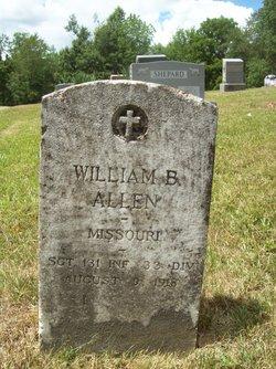 Sgt William B. Allen